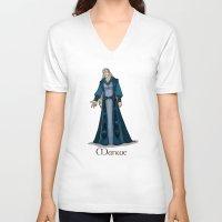 valar morghulis V-neck T-shirts featuring Manwe by wolfanita