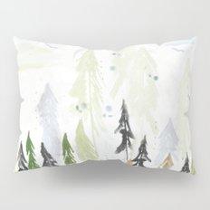 Into the woods woodland scene Pillow Sham