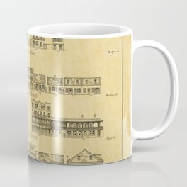 New Orleans Architecture Coffee Mug