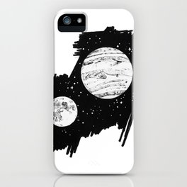 Nothing and everything iPhone Case