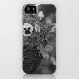 Hanging Basket iPhone Case