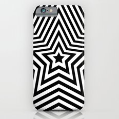 Stars - black & white vers. Slim Case iPhone 6