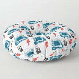 Bowie MajorTom stuff seamless pattern  Floor Pillow