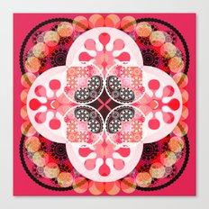 Pink illusion Canvas Print