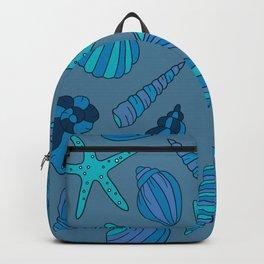 blue summer Backpack