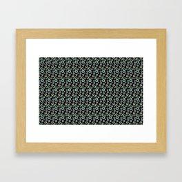 I Only Have Eyes for You (on Designer Black Background)  Framed Art Print