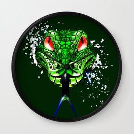 Morelia viridis Wall Clock
