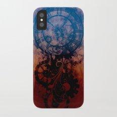 Steampunk clock Slim Case iPhone X