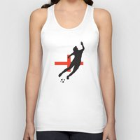 england Tank Tops featuring England - WWC by Alrkeaton