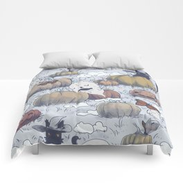 The Return in Fall Comforters