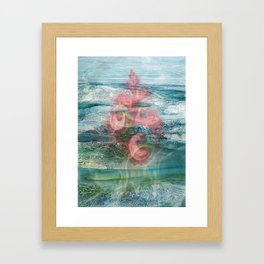 Coral of the Sea Framed Art Print