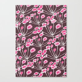 Floral Sprigs Canvas Print