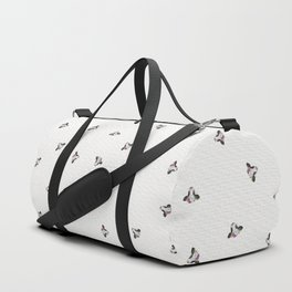 Baby Cow with Flower Crown Duffle Bag