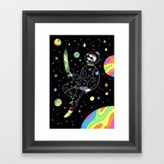 Dead Man Floating Framed Art Print