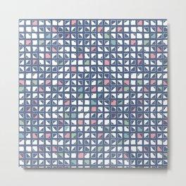 Diagonall Metal Print