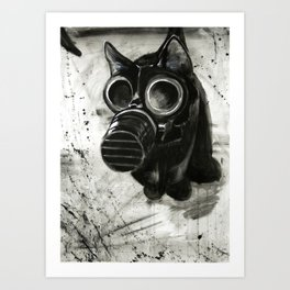 Catastrophe Art Print