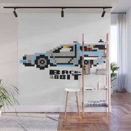 Back To The 8 Bit Wall Mural