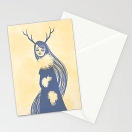 Lady Blue Stationery Cards