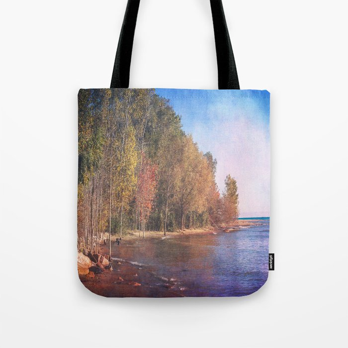 Somewhere There's Peace Tote Bag