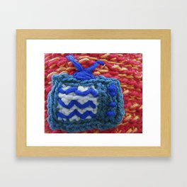 No Cable Framed Art Print