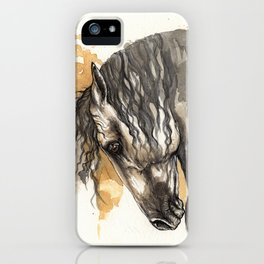 Andalusian horse iPhone Case