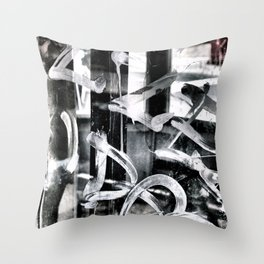 Gritty Philly Throw Pillow