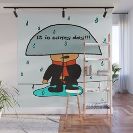 It is sunny day by Lu Wall Mural