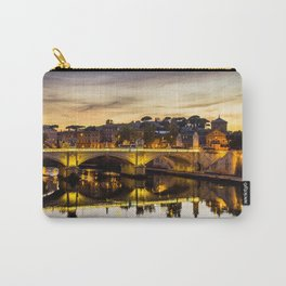 Rome river and bridge Carry-All Pouch