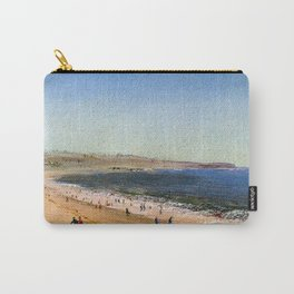 Easton's Beach, Newport, Rhode Island by Charles De Wolf Brownell Carry-All Pouch