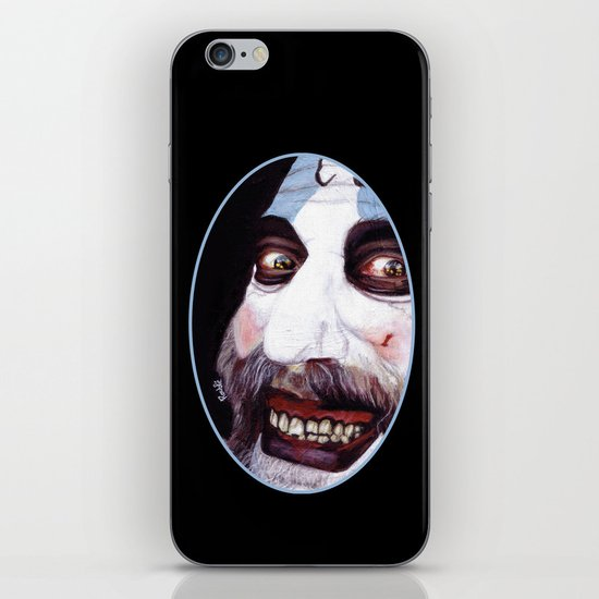 Captain Spaulding iPhone & iPod Skin
