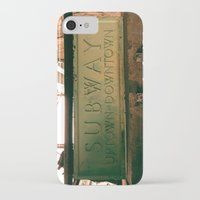 subway iPhone & iPod Cases featuring Subway by Kimball Gray