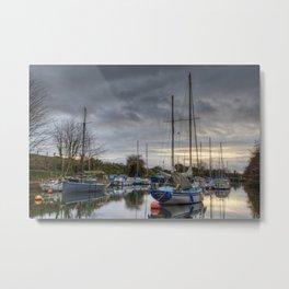 Harbour Light Metal Print