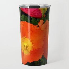 Poppies One Travel Mug