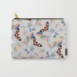 Magnolia flower and insect Carry-All Pouch