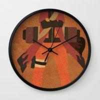 naruto Wall Clocks featuring Sage Naruto by JHTY