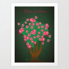 Queen of Hearts | Villains do It Better Art Print