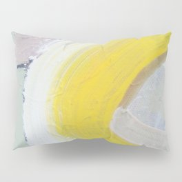 Waves: Lemon Pillow Sham