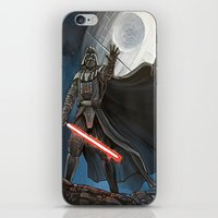 death star iPhone & iPod Skins featuring Death Star by Laura-A