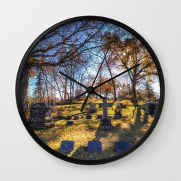 Sleepy Hollow Cemetery New York Wall Clock