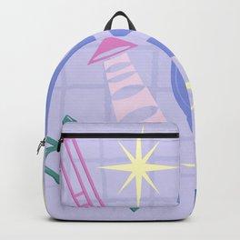 Django Jazz Composition In Purple Backpack
