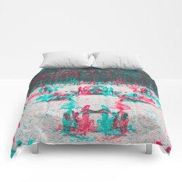 Arpoador Anaglyph Comforters
