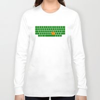 spaceship Long Sleeve T-shirts featuring Spaceship by Dampa