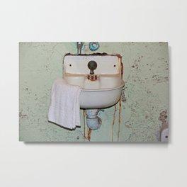Alcatraz Sink Metal Print