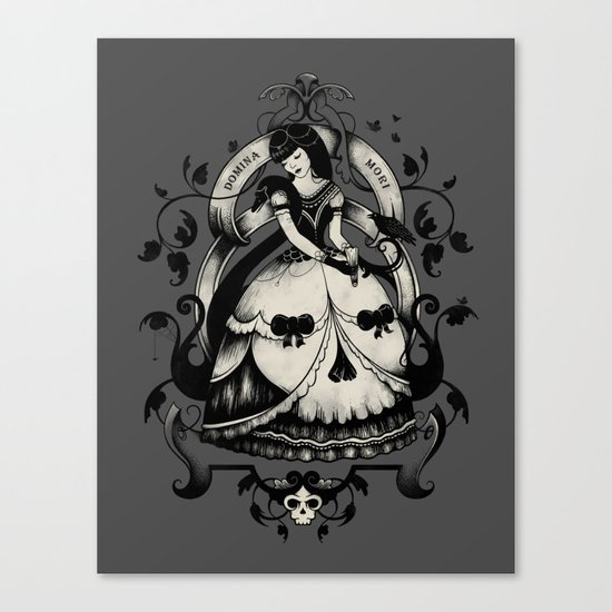 Domina Mori Canvas Print