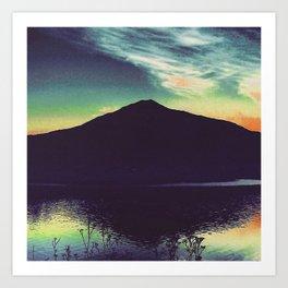 Mount Tamalpais Art Print