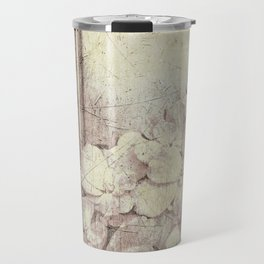 Flowers in the water Travel Mug
