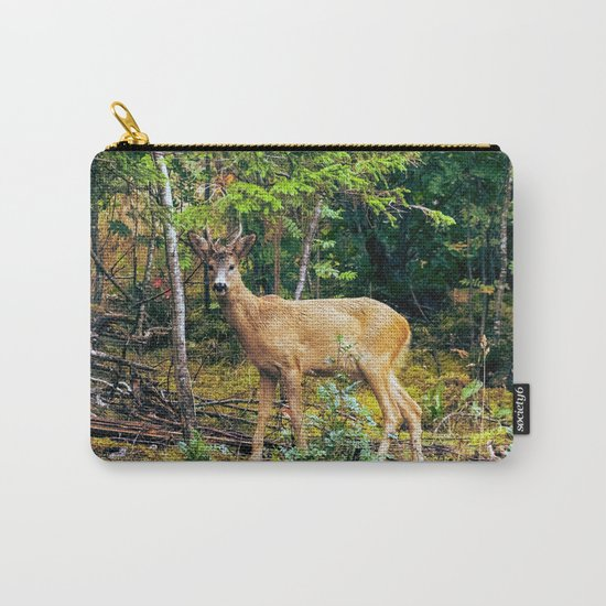 The Wandering Deer Carry-All Pouch