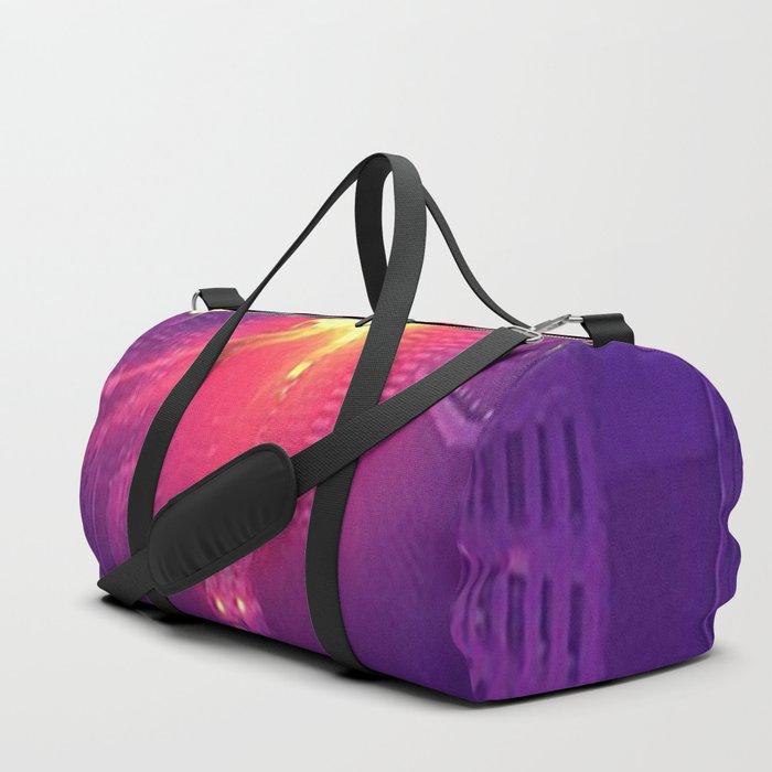 Glowing City Duffle Bag