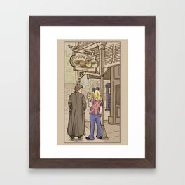 Side Trip Framed Art Print
