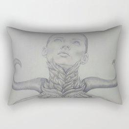 A Giggle At A Funeral Rectangular Pillow
